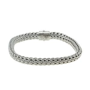 John Hardy Classic Chain Rhinestone Bracelet182057